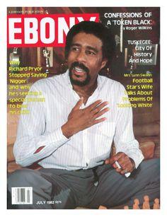 Historic Ebony Magazine Covers July 1982