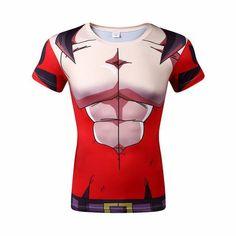 DRAGON BALL Z Short Sleeve Compression Shirt for Men