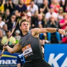 Javilin thrower breaks German 20 year record by throwing past the 91-metre-mark twice in Turku