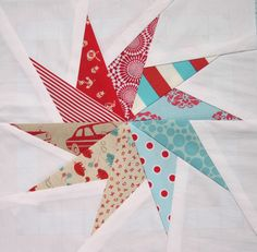 Pinwheel - Paper pieced