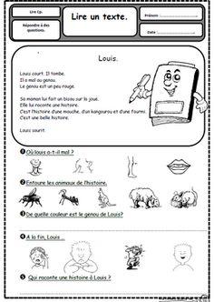 Petits textes pour travailler la lecture et la compréhension en CP