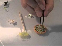 Polymer Clay - Making Pizza