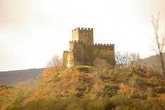 Castelo de Doiras. Cervantes. (Lugo). Galicia. Spain.