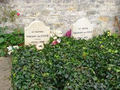 Vincent Van Gogh, cimetière d'Auvers-sur-Oise