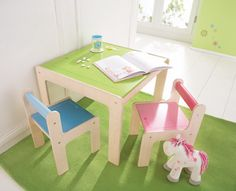 DECOILUZION - Mesa para niños punto