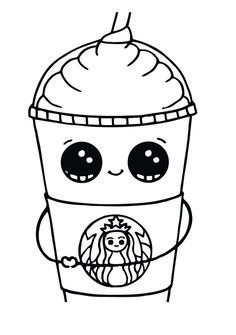 Starbucks Coloring Pages to Print Here is a cool collection of printable coffee cup coloring page of the Starbucks. These Starbucks coloring pages to print will make everyone, not just kids, who love coffee will get excited to do coloring activity. Mermaid Coloring Pages, Free Adult Coloring Pages, Christmas Coloring Pages, Coloring Pages To Print, Animal Coloring Pages, Printable Coloring Pages, Coloring Sheets, Coloring Books, Kids Coloring