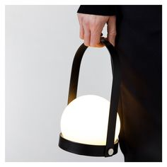 Lampe Nomade Carrie Noire   Meuble