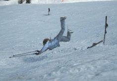 Me Skiing.