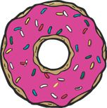 emoji unicornio e donut png Overlay Tumblr, Transparents Tumblr, Tumblr Stickers, Car Stickers, Tumblr Wallpaper, Kawaii Drawings, Oeuvre D'art, Cute Wallpapers, Donuts