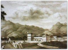 Paço do Imperador do Brasil em São Cristóvão - Rio de Janeiro.