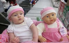 Bebés y muñecos, #babys #juguetes #bebés