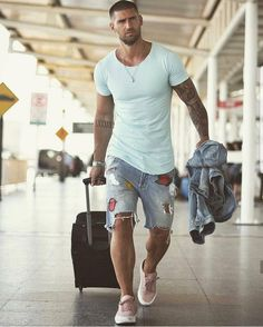 Mens Style Discover 120 modern summer outfits ideas to copy asap Trendy Mens Fashion, Stylish Men, Men Casual, Parisian Fashion, Fashion Today, Bohemian Fashion, Fashion Fashion, Retro Fashion, Fashion Outfits