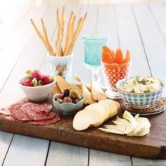 Never underestimate the power of a good appetizer for your wine and cheese party.