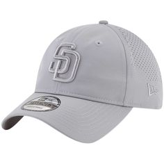 buy online c7014 15ffb Tampa Bay Rays New Era Perforated Tone Adjustable Hat - Gray