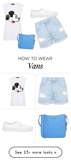 """""""Untitled #45"""" by nerminac on Polyvore featuring moda, Markus Lupfer, Topshop, Vans i MICHAEL Michael Kors"""