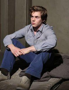 Still think AHS season 1 was better, but season 2 has improved as it progressed. Love Peters. // Evan Peters as Kit Walker