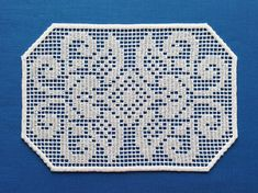 ITH Crochet Style doily FSL Embroidery design In the hoop