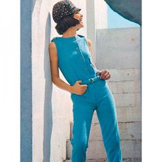Corsage et Pantalon n°136 de Burda Style Juin 2013