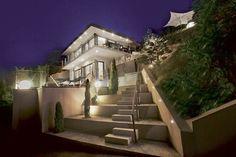 Villa de luxe au bord du lac d'Annecy.