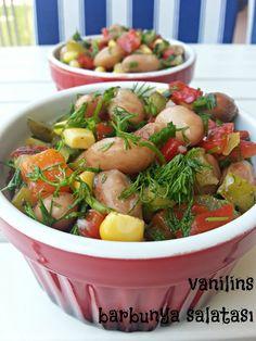 Vanilins: Barbunya salatası