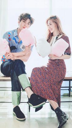 Sehun and Irene are in love in more, hot 'CeCi' photos + interview video | allkpop.com