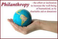 Definition Philanthropy