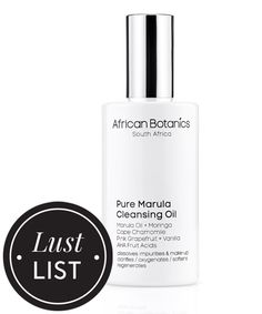 The Cleansing Oil That Leaves Your Skin Angel-Wing Soft: African Botanics Pure Marula Cleansing Oil, $60, available at SpaceNK