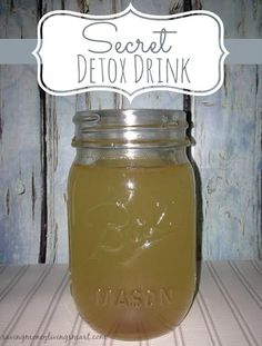 Secret Detox Drink An all natural and healthy recipe that will Help your body burn fat, lose weight, fight diabetes.