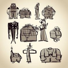 #characterdesign #drawing #doodle#sketch #illust #캐릭터디자인 #그림#낙서#드로잉#일러스트 by hyunsong_we