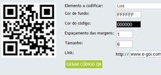 funcionalidades personalizar mensagens qr codes
