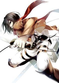 Mikasa Ackerman - Attack on Titan (Shingeki no Kyojin)