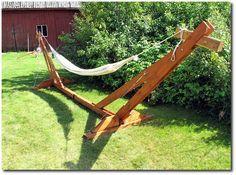 Hammock Stand - Indoor & Outdoor   Hammock stand, Backyard and ...