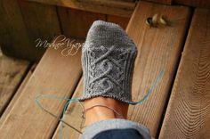 Носки спицами Silver Birch - Модное вязание