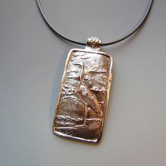 Pam from IN her Repoussé Effects in Metal Clay piece