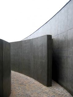 Layered curved walls