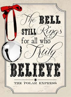 All you have to do is Believe…Add some Polar Express Fun to your Christmas Decorations this year with this Movie Quote Posterthat you can Print yourself!The item you will receive is a set of High Resolution do-it-yourself Printable JPG files.You can Printto create your own Christmas Poster. 2 sizes included – 8×11″ and 11×16″.