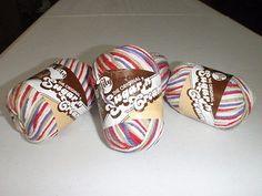 Lily The Original Sugar 'n Cream Yarn 4 PCS 100% cotton medium wt. multi-color on eBay!