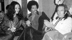 With Stella Douglas & Mati Klarwein 1970