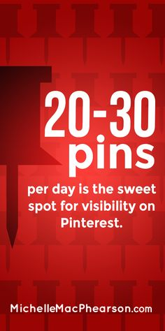 Visibility on Pinterest | How Many Pinterest Pins Should You Make Per Day? | Good advice for both individuals and brands.| #pinterest_tips