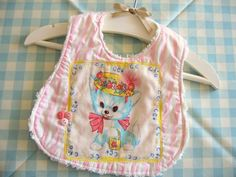 vintage kitty bib | Flickr - Photo Sharing!