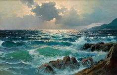 Artist Alexander Dzigurski – seascape painting