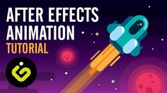 After Effects Tutorial, EASY Rocket Animation Tutorial In After Effects