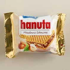 One of my favorite discoveries at WorldMarket.com: Kinder Hanuta Bar