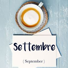 Parola del giorno / Word of the day: Settembre (September). Il mese di settembre dura 30 giorni. = September lasts for 30 days. Learn more about this word and see example phrases by visiting our website! #italian #italiano #italianlanguage #italianlessons Italian Lessons, French Lessons, Spanish Lessons, Italian Language, German Language, Japanese Language, Italian Words, Italian Quotes, Teaching French