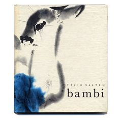 Rare Bambi with Czech illustrator Mirko Hanak. Would LOVE to have it!
