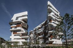 waaaat? | Zaha Hadid and Daniel Libeskind build a community of 650 homes in Milan | Architecture