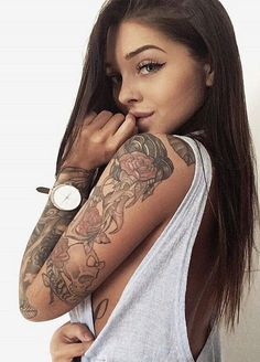 Searching for best tatoos designs? You may find here numerous tatoos designed by the most stylish girls in the world.