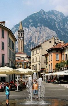 Piazza XX Settembre, Lecco, Lombardy, Italy