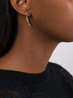 Shaun Leane Signature Tusk diamond earrings