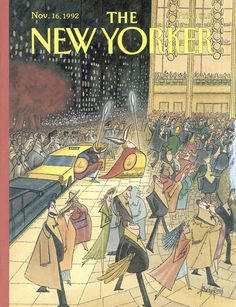 The New Yorker - Monday, November 16, 1992 - Issue # 3535 - Vol. 68 - N° 39 - Cover by : Arnold Roth